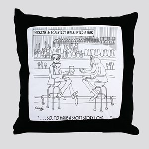 Literature Cartoon 9267 Throw Pillow
